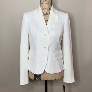 RAFAELLA IVORY 2WAY STRETCH BLAZER SZ 4 NWT